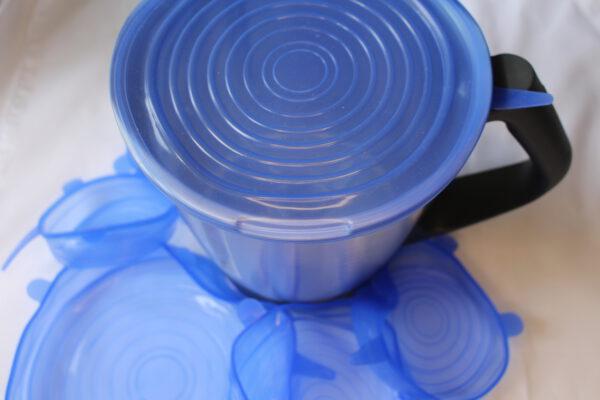Deckel Blau